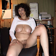 Lusy Wears a White Top and Soon Strips It Off
