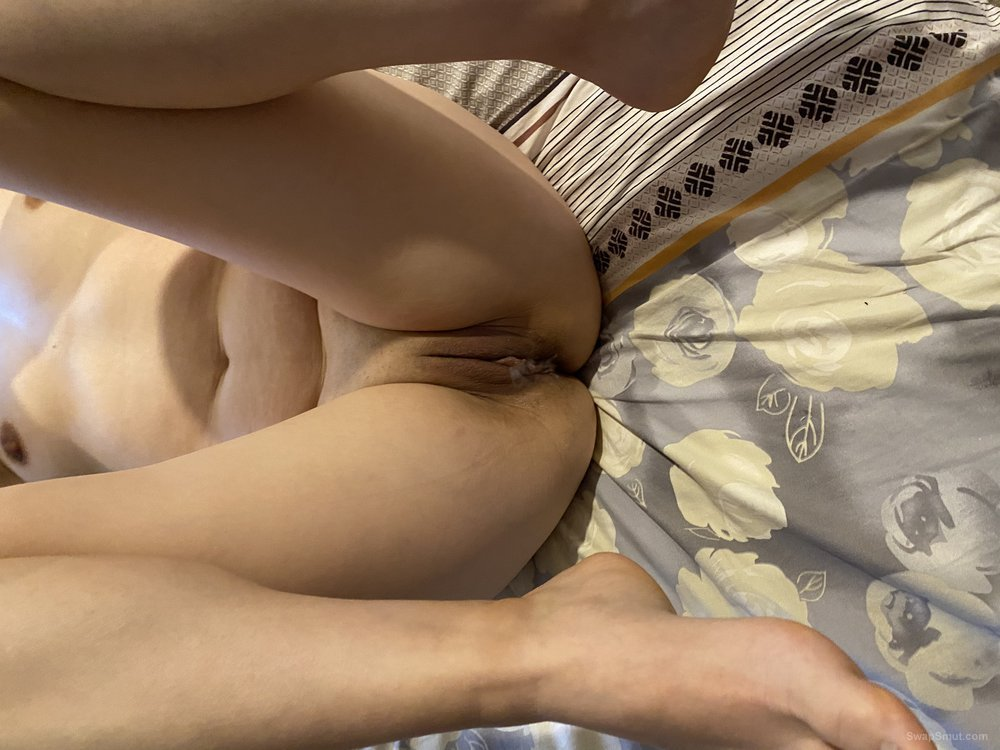 Hotwife's tasty pussy waiting for your cum