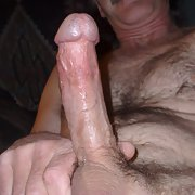 Just my pics cock hard on nice and erect