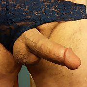 A Few More Pictures of Me Wearing my Fife's Panties, Turns me on! Her too