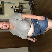 This is one hot BBW who needs a good fucking
