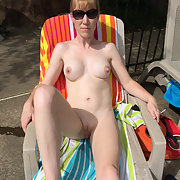 A sexy british wife with big boobs love to show off her body part 7