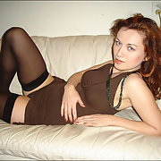 Erotic photos of my wife posing in lingerie