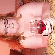 A Glass of wine and naughty time