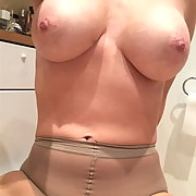 Exhibition of my amateur slut wife. She enjoy showing her goods