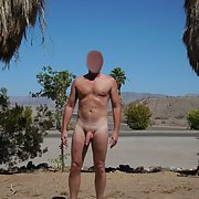 A Day Spent Nude Hiking at Lake Mead on a hot day