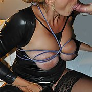 Mature slut sucking a cock and Other enjoyments