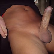 My cock pumped full of lust horny and super hard