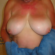 I love showing my wife big tits naked would you like some
