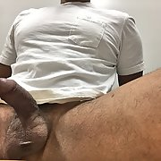 I want to feel your tongue all over my cock and ass