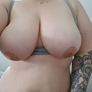 Just me and some of me big breasts