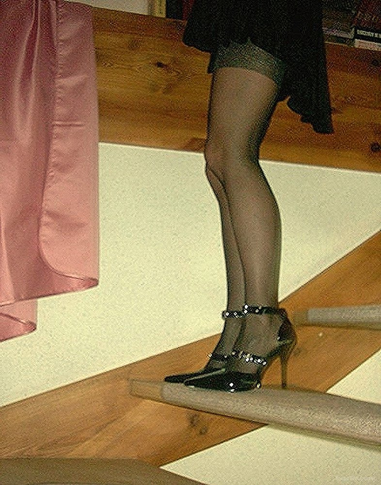 We always enjoy fucking Anna when she wears these high heels for us to enjoy
