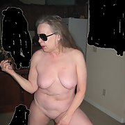 Sweet Pussy 65th birthday naked woman amateur pictures taken at home