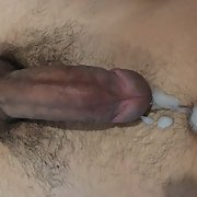 Shooting a huge load while watching swapsmut