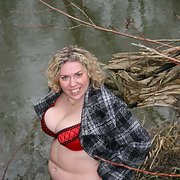 Barby down by the river