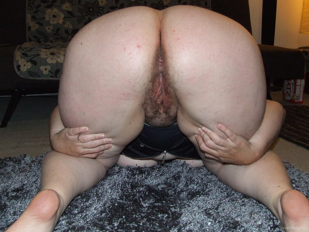 Chubby hairy pussy and ass think, that