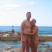 sexy swinging couple hedonistic holiday vacation pics