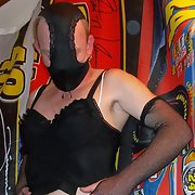 Miss JJ's outfits tranny crossdresser male in lingerie