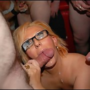Mature women getting cum milk on her face I love these hoes