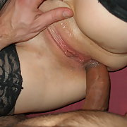 Beautiful lips lovely blowjob and anal sex