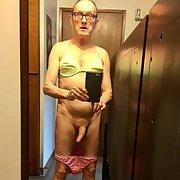 Exposed Faggot Pervert Slut Models Lingerie And Cums In Rubber