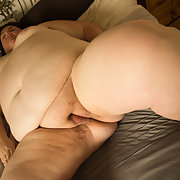 My Big Fat BBW Wife Naked On The Bed