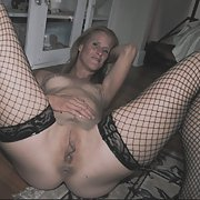 Homemade photos sexy amateur in fishnet stockings