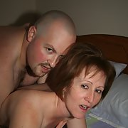 Cuckold mature wife bare cock sex with another man
