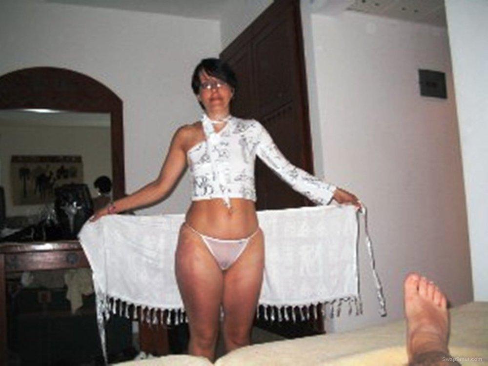 Granny Latina is always horny and ready to fuck