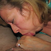 Mature Wife Sucking Cock
