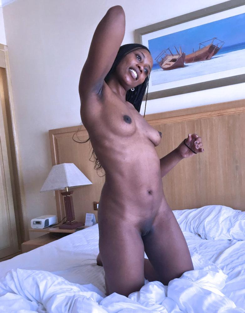 Pornstar Ana Loxx interracial blowjob action