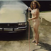Hey wifey, you should really wash your carin the nude