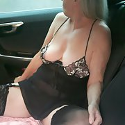 More of Karen my slut showing her cunt for all to see