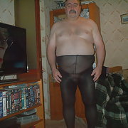 Chubby Gerald showing nude please share and wearing nylons