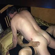 Mixed race fuck slut enjoys cock