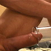pumping my cock