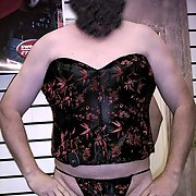 Having fun at Pricilla's Lingerie and More cross dressing