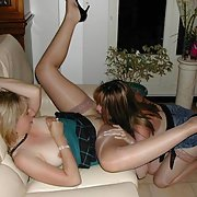 A hot bisexual wife having some quality lady time with friend and toys