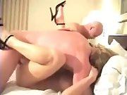 Sharing wife with frienda in hot foursome