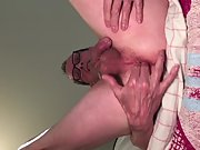 Exposed Faggot Pervert Slut Shows Face Fingers Wide Open Asshole