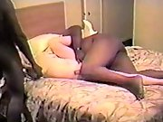 Tag Team BBC Double Fucking White Wife as Hubby Cheers them on