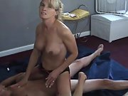 Husband films his wife with a younger lover amateur sex