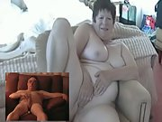 Mature Exhibitionist Couple Playing