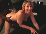 Milf is fucking good by a black man her hubby arranged cuckold porn