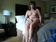 Mature couple quickie before bed