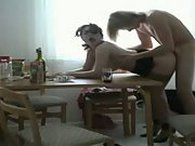 Hot amateur mom fucked at home