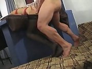 Sexy Amateur Fucked Against A Wall