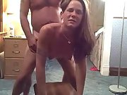 Sixty niner oral and hard pounding fuck from behind