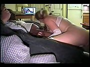 Cuckold busty milf in white lingerie fucking black brothers big dicks