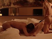 Chinese Mature Woman with his husband and friend threesome fucking